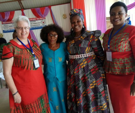 Conference participants. Faustina Nillan, ELCT Staff, is on the right