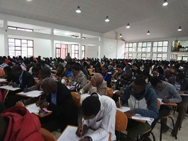TUMA Assembly Hall exam